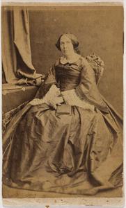 Portret van Otteline Agathe van der Staal (1809-1871)
