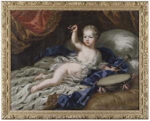 kinderportret van Karl XII, koning van Zweden (1682-1718)