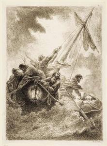 Christus in de storm op het Meer van Genesareth
