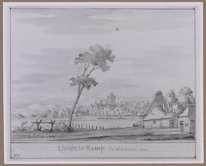 Huis te Ramp (ook wel Rampenbosch of Rampenburg) bij Bergen