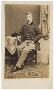 Portret van Daniel Bonifacius van der Haer (1845-1877)