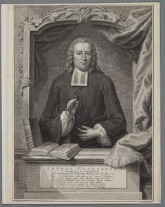 Portret van Petrus Noordbeek (1711-1779)