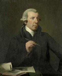 Portret van Reinier Vinkeles (1741-1816)