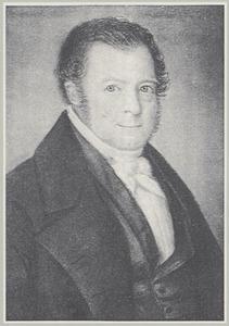 Portret van Simon Hendrik Taconis (1795-1871)