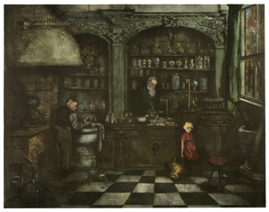 'De oude apotheker'