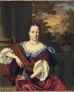 Portret van een persoon genaamd Hester Roman (1670-1745)