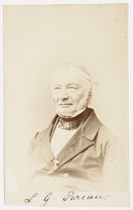Portret van Lodewijk Gerlach Pareau (1800-1866)