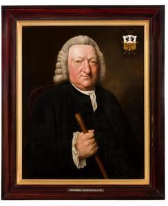 Portret van Willem van Loon (1707-1783)