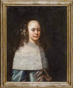 Portret van een meisje, mogelijk uit het geslacht Van Rouwenoort