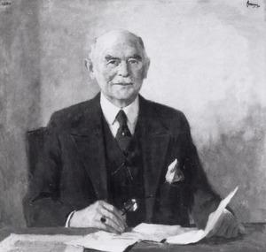 Portret van Lodewijk Hendrik Nicolaas Bosch van Rosenthal (1884-1953)