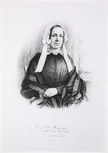 Portret van Catharina Johanna Eysinga (1817-1857)