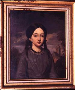 Portret van Geertruida Julia Blenken (1840-1911)