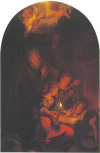 De heilige Anna leert de jonge Maria lezen