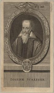 Portret van Josephus Justus Scaliger (1540-1609)