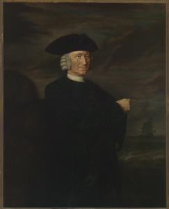 Portret van een man, mogelijk J. Zeeman (of J. Zeemleer)