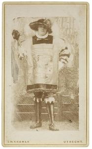 Portret van Daniël de Blocq van Sytzama (1858-1918) als Heraut van Matthias