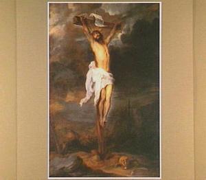 Christus aan het kruis zonder bijstanders