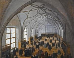 De Wladislawzaal te Praag