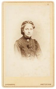 Portret van Maria Johanna de Monchy (1834-1890)