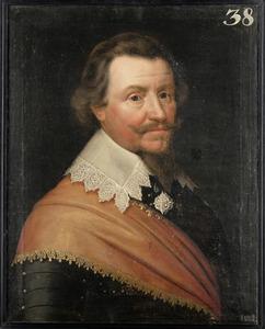 Portret van Ernst Casimir, graaf van Nassau