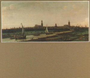 Delft, gezien vanuit het noorden