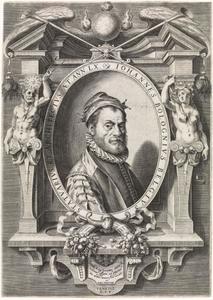 Portret van de beeldhouwer Giambologna (?-1608)