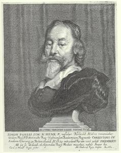 Portret van Simon Paulli (1603-1680)