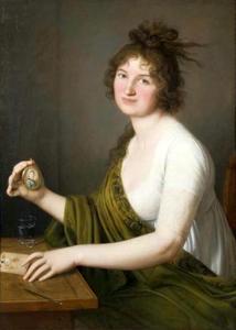 Portret van Waleria Tarnowska, née Stroynowska (1765-1821)