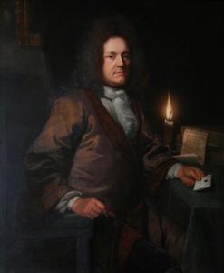 Portret van John Acton, advocaat te Basingstoke (1655-1729)