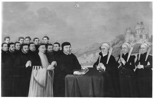 Portret van de familie van Jan van Sonsbeeck (1463-1569)