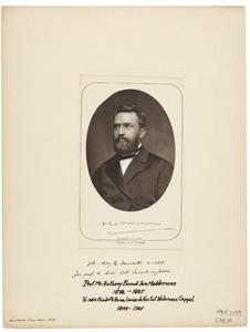 Portret van Anthony Ewoud Jan Modderman (1838-1885)