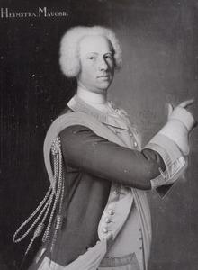 Portret van Feye Johannes van Heemstra (1694-1748)