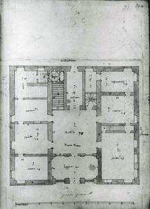 Villa Spinola di San Pietro: Grondplan