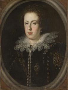 Portret van Claudia de' Medici (1604-1648)