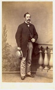 Portret van Pierre Nicolas Quarles van Ufford (1825-1901)