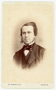 Portret van Cornelis Fock (1828-1910)