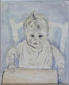 Rob in kinderstoel