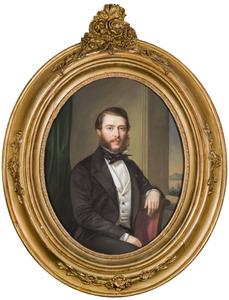Portret van een man, waarschijnlijk Frederik Willem Jacob baron van Aylva van Pallandt (1826-1906)