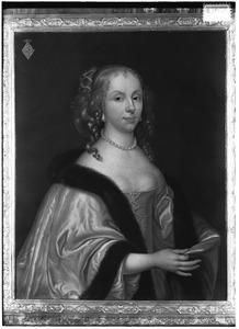 Portret van Aleida Paets (1635-1673)