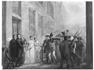 Christina Catharina de Vries (1772-1856) stelt de Leidse burgerij gerust