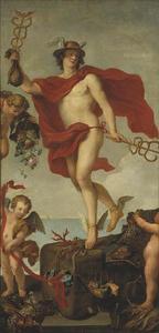 Het vertrek van Mercurius in Antwerpen