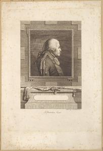 Portret van Joachim Maurits von Kropff (....-1793)