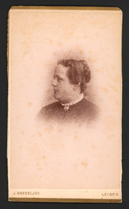 Portret van Frederica Eugenia George (1825-1893)