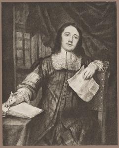 Portret van Cornelis de Bie (1627-?)
