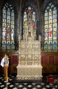 Passieretabel met sacramentstoren
