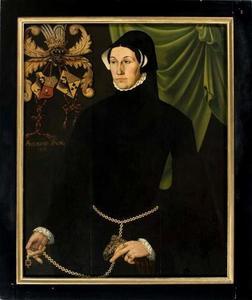 Portret van een 44-jarige vrouw, mogelijk Foockel van Martena (?-?)