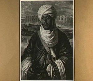 Portret van Muley Ahmed