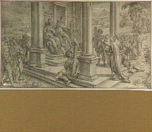 De apostel Paulus voor koning Agrippa (Handelingen 26)