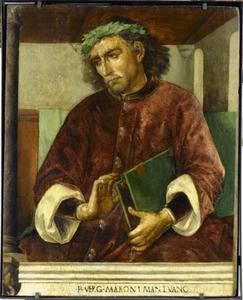 Vergilius (70-19 voor Chr.) uit de serie 'Beroemde Mannen'