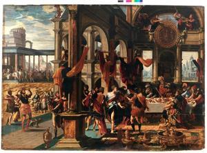 Het feestmaal van Ahasverus (Esther 1:1-12)